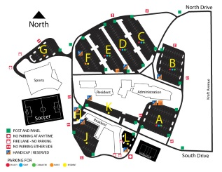 Lettinga Parking Map